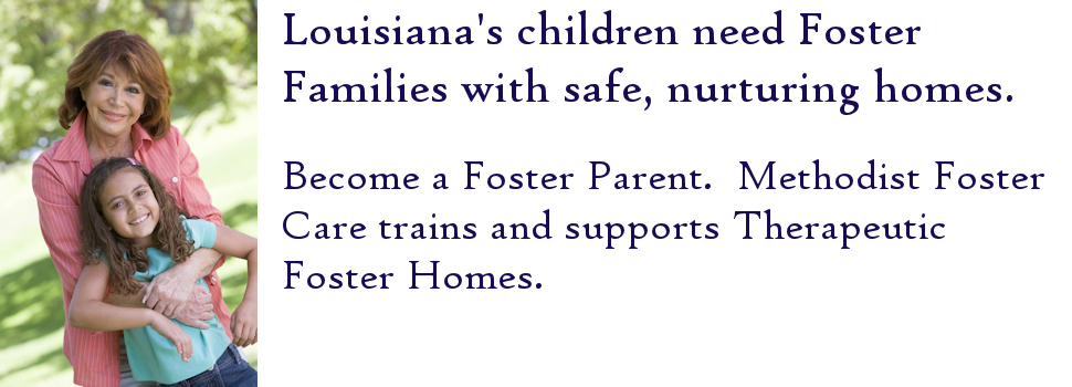 At any given time, about 4,700 children are in Louisiana's foster care program. Louisiana's children need you!